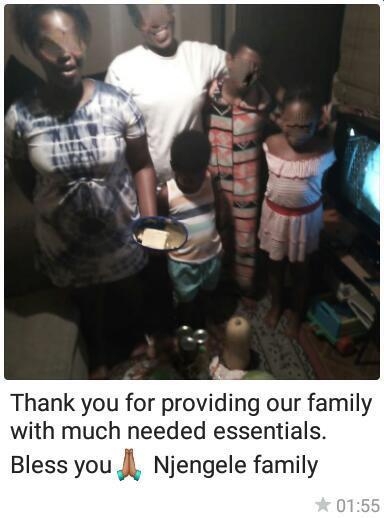 Njengele family from Gugulethu