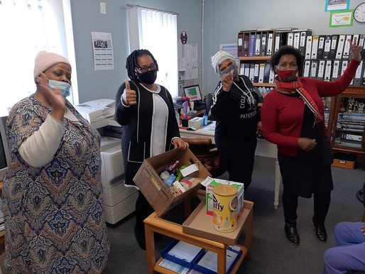 PPECB's Winter Warmers for Mandela day