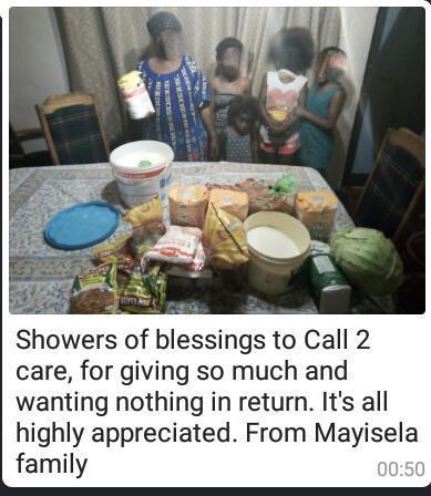Mayisela family from Gugulethu
