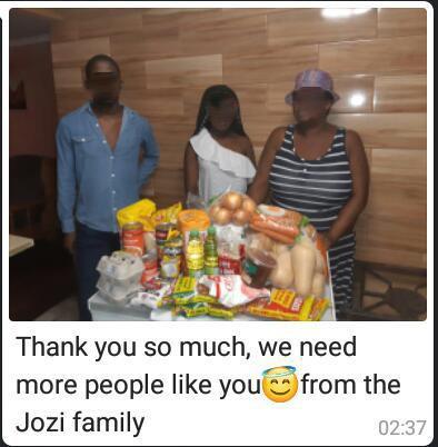 Joze family from Gugulethu