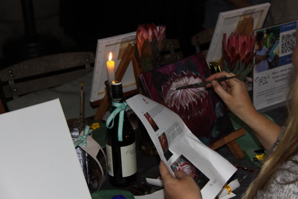 Paint & Sip ft Karen Davel