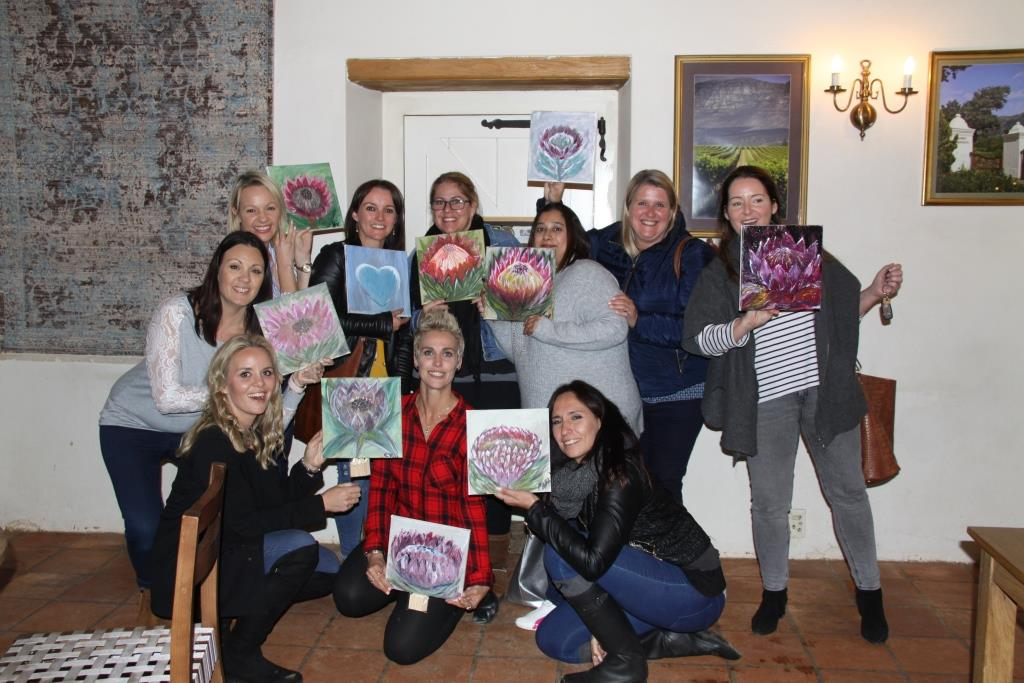 Paint & Sip at Constantia