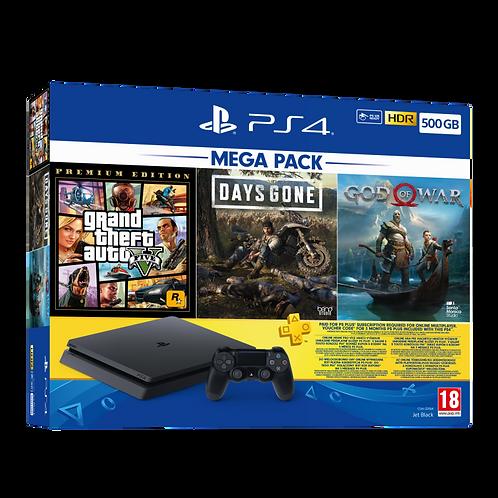 PS4 500GB Mega Pack