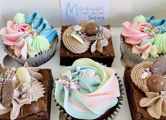 Cupcake & Brownie Box