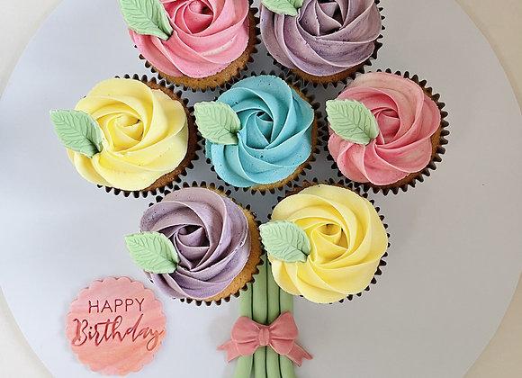 Cupcake Bouquet: Pastel