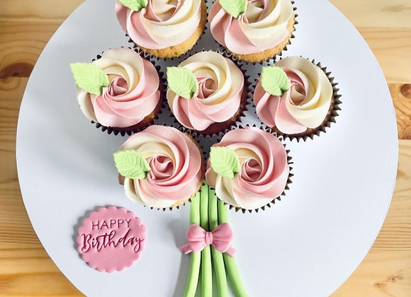 Cupcake Bouquet: Pink