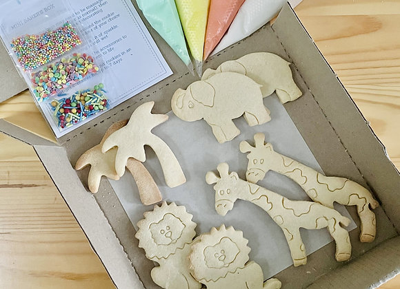 Mini Baker's Cookies Box: Jungle