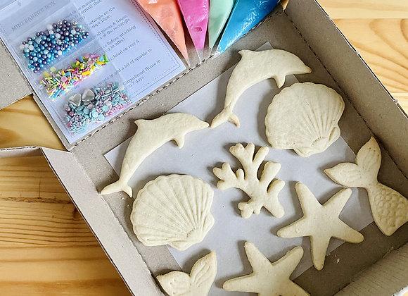 Mini Baker's Cookies Box: Mermaid