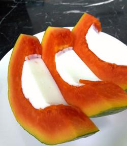 木瓜牛奶凍