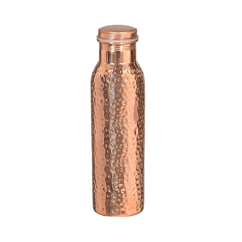Pure Copper Ayurveda Water Bottle