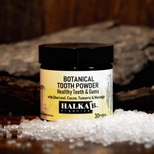 Halka B Botanical Tooth Powder 30g
