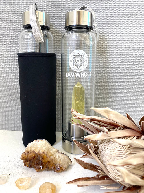 Citrine Stainless Steel Water Bottle