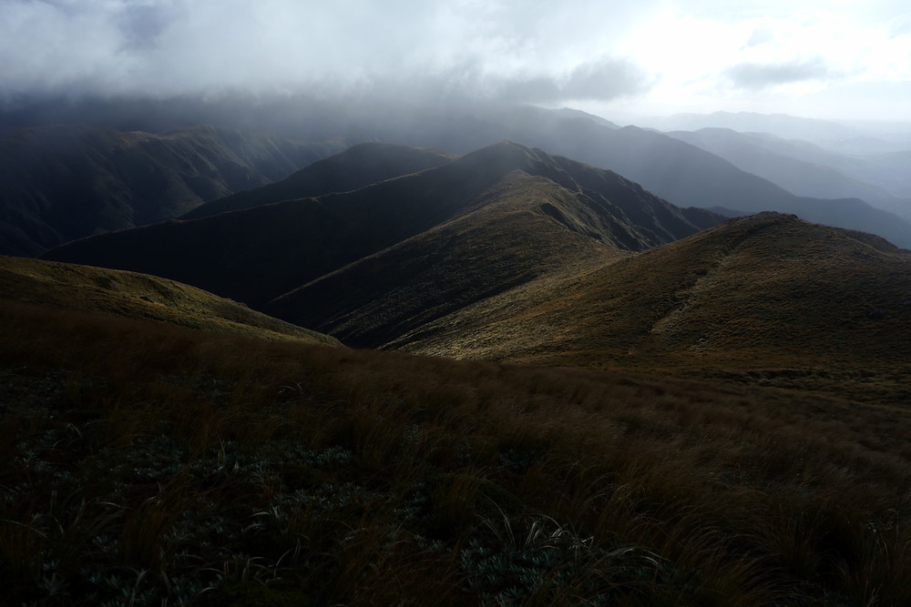 Taken in the Ruahine Ranges