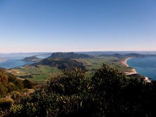 Seeing the sea - Whangarei to Paihia
