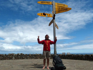 The forests, the darkest hour and the finish - Paihia to Cape Reinga