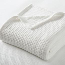 SleepSmart™ Temperature Regulating Basketweave Blanket