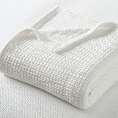 SleepSmart™ Temperature Regulating Basketweave Blanket