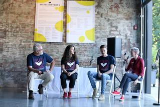artist talk at FAR gallery preview