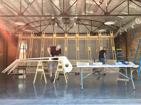 Test build at FAR Gallery