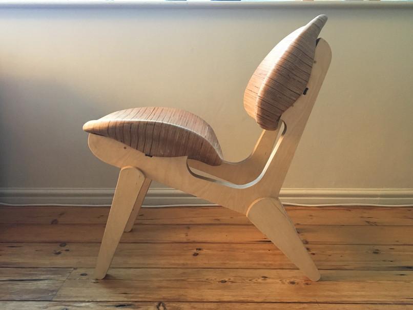 cnc milled custom furniture chair