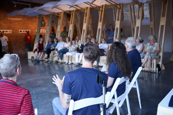 Artist talk at FAR Gallery