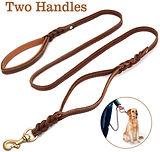 Focus Pet Leather Dog Leash