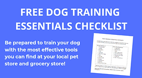 Free Dog Training Checklist