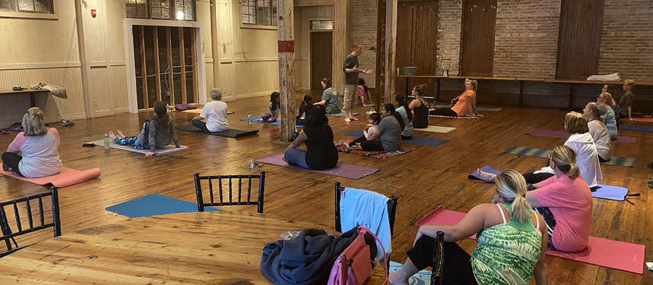 The Commission on the Future of Alcorn County hosts free yoga class.