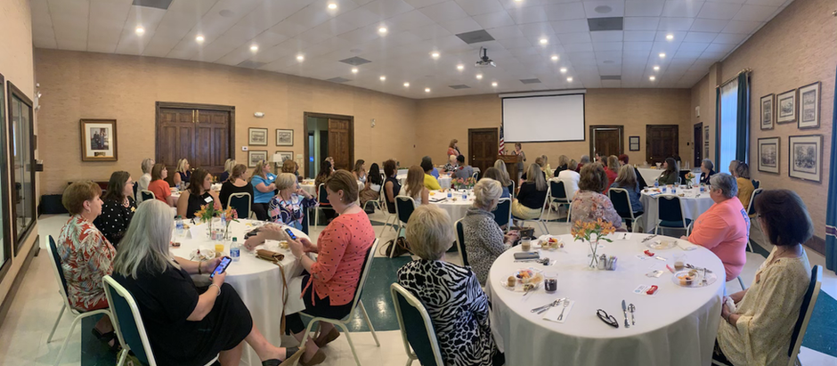 Over 50 women gathered for the inaugural meeting of the Crossroads Women's Connection.