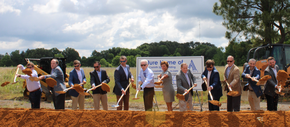 The Alliance Breaks Ground on Industrial Spec Building.