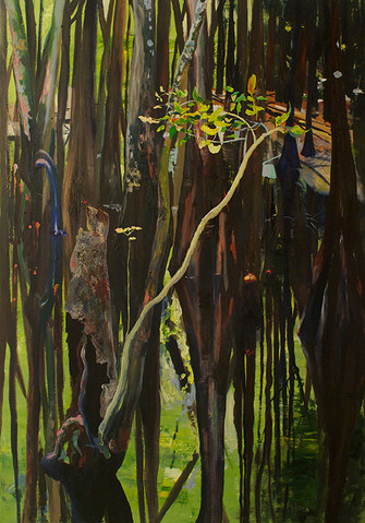 "From Whence You Came | oil on canvas, 42"" x 60"", 2015"