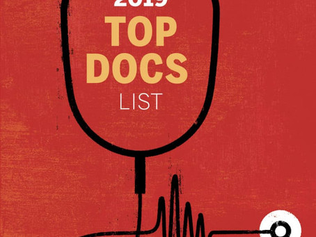 """Dr. Hill Makes """"Top Doc"""" of 2019"""