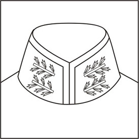 Cossack collar