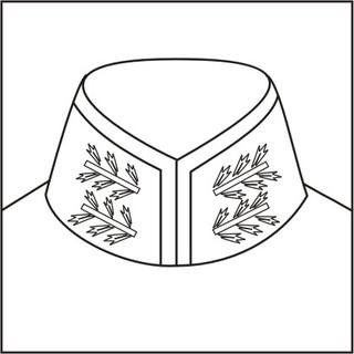 Cossack collar