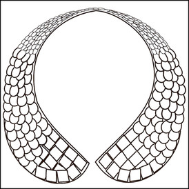 Jeweled collar