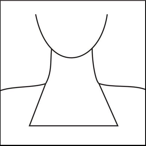A-line neck