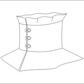 Edwardian collar