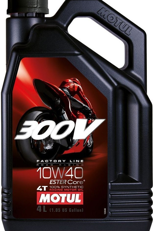 Motul 300V 10W40 Racing fully synthetic 4L