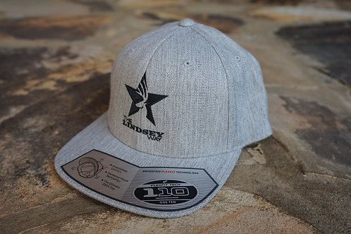 """Flatty"" Heather Gray Snapback"