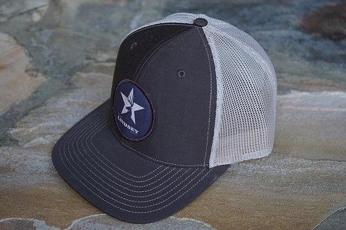 Brown/Tan Patch Hat