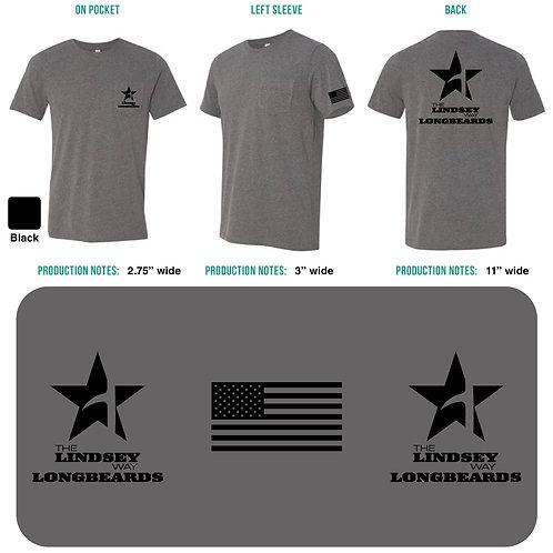 LONGBEARDS Pocketed T-Shirt