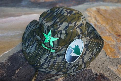 """The Okefenokee"" Boonie Bottomlands OG/Neon Green Hat"