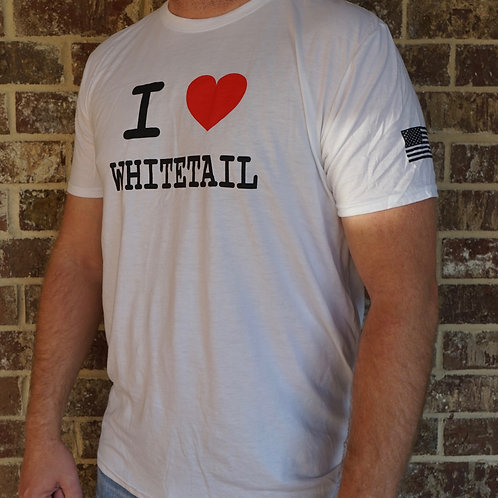 I ❤️ Whitetail T-Shirt