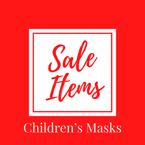 CLEARANCE +DISCONTINUED LINES -LIMITED STOCK CHILDREN'S SIZE ONLY