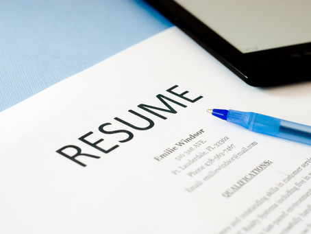Resumes in Today's Recruitment World