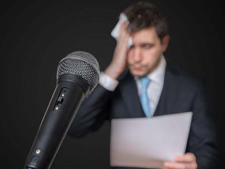 Glossophobia — Fear of Public Speaking