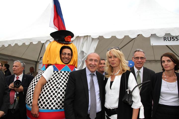 Fêtes consulaire, Gerard Colomb, Natalia Osipova