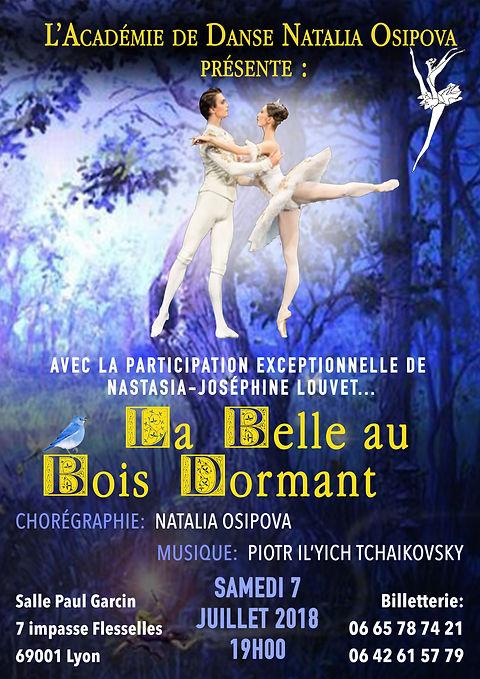 La Belle au bois Dormant, Théâtre de la