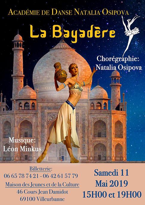 La Bayadère, Théâtre de La Danse Natalia