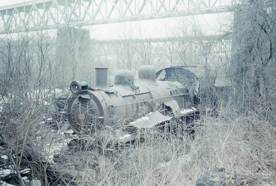 Abandoned PRR Locomotive